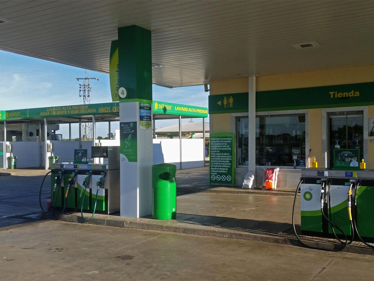 Gasolinera Hnos. Orta (La Redondela - Huelva)